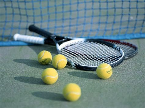 Image result for tennis racket & ball