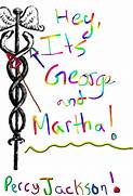 Hey its George and Martha Hilarious Percy Jackson Quotes