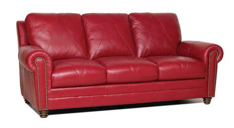 New Luke Leather Weston Cherry Red Italian Leather 3pc