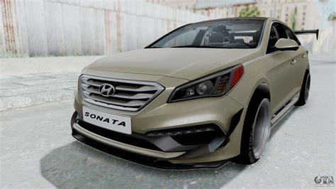 Hyundai Sonata Mods by Hyundai Sonata Lf 2 0t 2015 V1 0 Rocket Bunny For Gta San