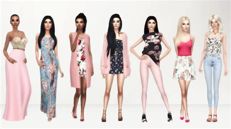 sims   books  cc finds female clothes