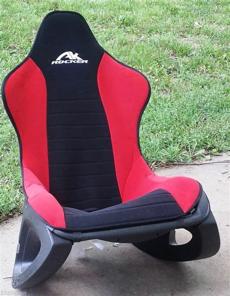 Rocker Gaming Chair Colors by Ak Rocker 100 Gaming Chair Black Gamer
