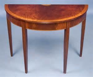 table demi lune cuisine mahogany demi lune table for sale antiques com