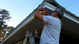 installing outdoor flood lights under eaves bocawebcamcom With installing outdoor rope lighting