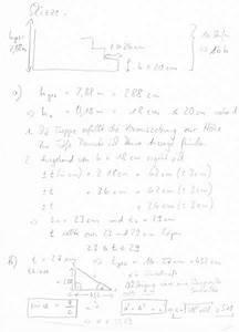 Treppe Handlauf Höhe Berechnen : treppe berechnen formel hausidee ~ Themetempest.com Abrechnung