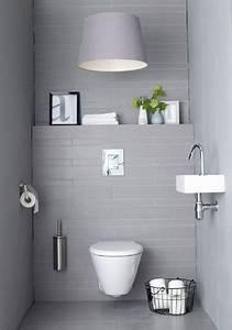 Deco Wc Gris : 10 d co wc qui soignent les petits coins d co cool ~ Melissatoandfro.com Idées de Décoration