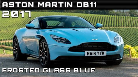 2017 Aston Martin Db11 Frosted Glass Blue Review Rendered