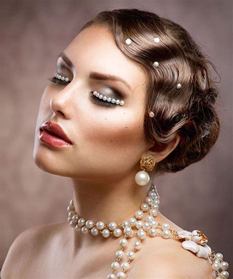 1920 Hairstyles And Makeup by Flapper Makeup Makeup