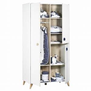 Armoire De Bébé : armoire chambre b b oslo boutons toile de sauthon ~ Melissatoandfro.com Idées de Décoration