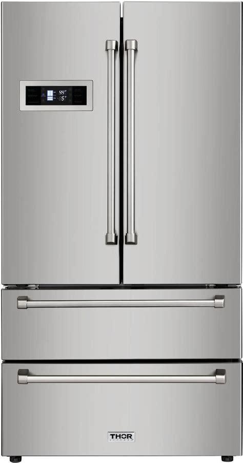 thor kitchen  cu ft counter depth french door refrigerator hrff spencers tv