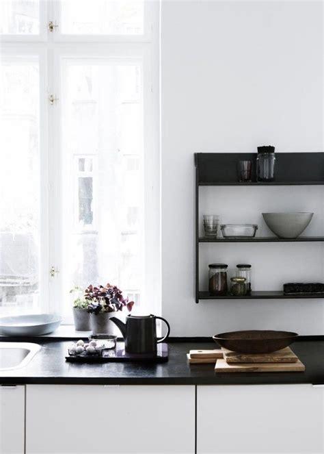 Schwarze Arbeitsplatte  Küche  Pinterest Arbeitsplatte
