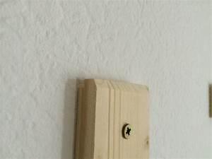 Spiegel Befestigung Wand : ein bild oder einen spiegel unsichtbar befestigen anleitung ~ Orissabook.com Haus und Dekorationen