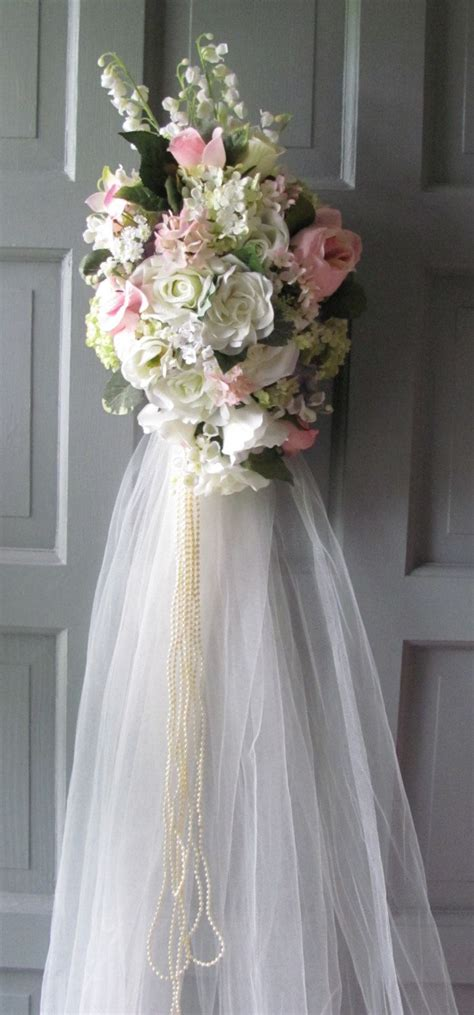 Wedding Decorations Floral Pink And Creamy White Bridal