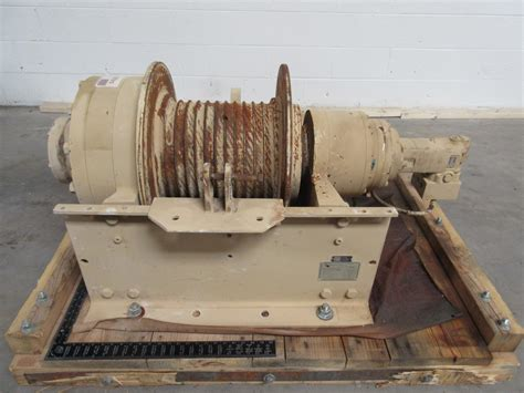 dp manufacturing 51882 001 planetary gear winch hydraulic 55 000 lb capacity t89