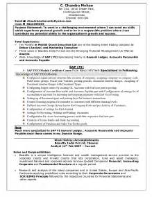 hr resumes for freshers