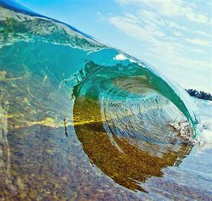 Photographer Dives Into Crashing Waves To Capture Their ...