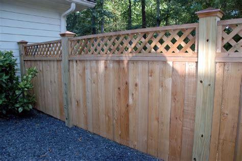 fence and gate ideas custom cedar fence gate designs allied fence