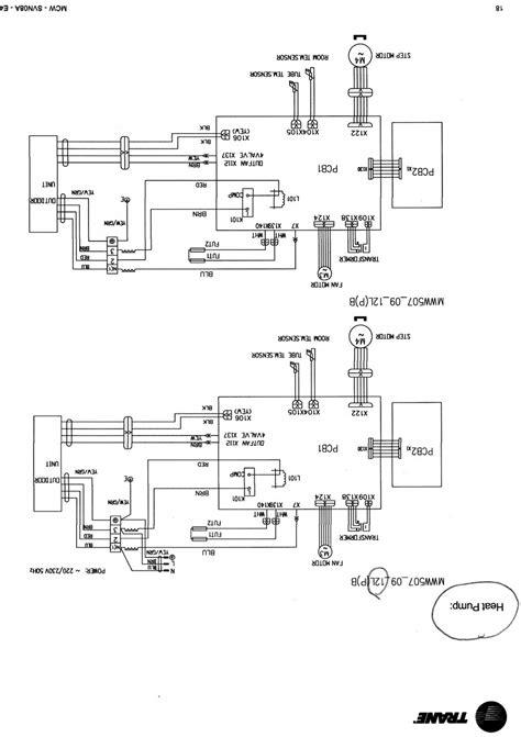 Trane Air Conditioner Wiring Diagram Webtor