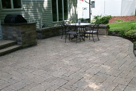patio paver contractors baron landscaping 187 cleveland