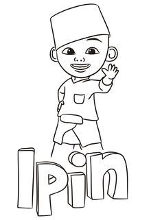 coloring pages upin  ipin ouvintedalua