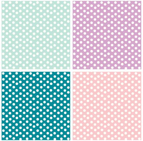 polka dot pink and green polka dots background