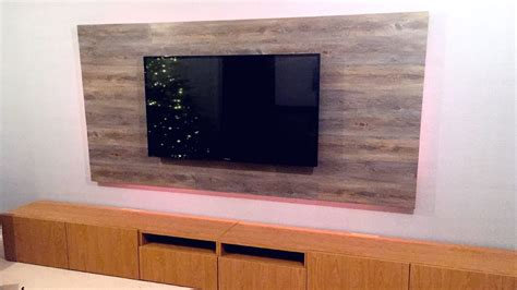 Tv Paneel Wand by New House Vlog Diy Floating Tv Wall Build