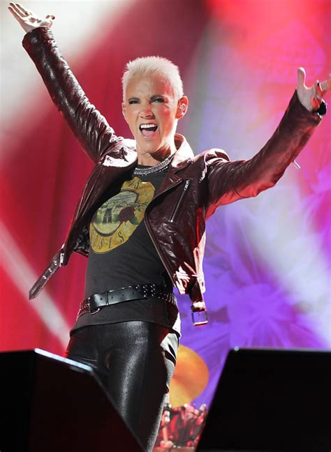 marie fredriksson picture  roxette performing