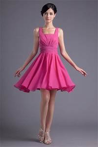 robes fuchsia longue ou courte pour le mariage blog With robe demoiselle d honneur fushia