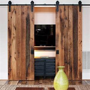 cleverly use interior sliding barn doors in your home With barn doors for home use