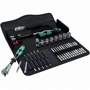Wera 135928 Kraftform Kompact H1 39 Piece Metal Tool Set