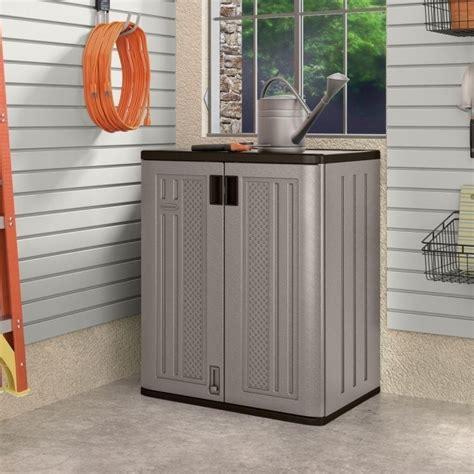 suncast storage cabinet home depot home depot plastic storage cabinets storage designs