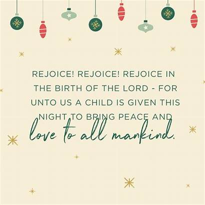 Christmas Card Religious Quotes Sayings Merry Messages