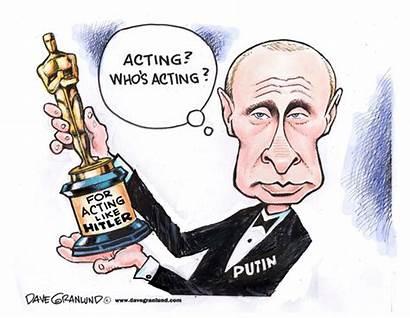 Putin Oscar Cartoons Cartoon Granlund Editorial Tit