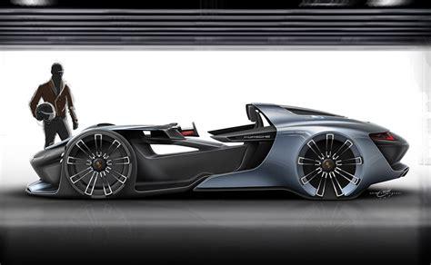 porsche  vision esquisite concept cars diseno art