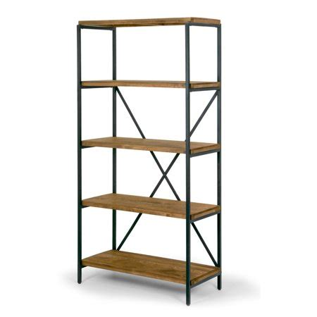 Etagere Wood by Ailis 67 Quot Brown Pine Wood Shelf Etagere Bookcase Media