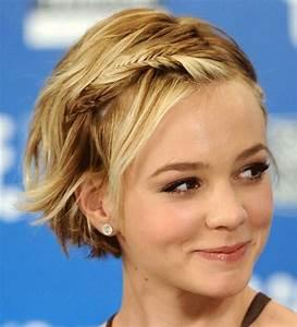 Tresse Cheveux Courts : couronne de tresses cheveux courts ~ Melissatoandfro.com Idées de Décoration