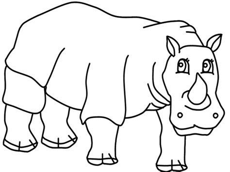 Vorlagen Zum Ausmalen Malvorlagen Nashorn Ausmalbilder 1