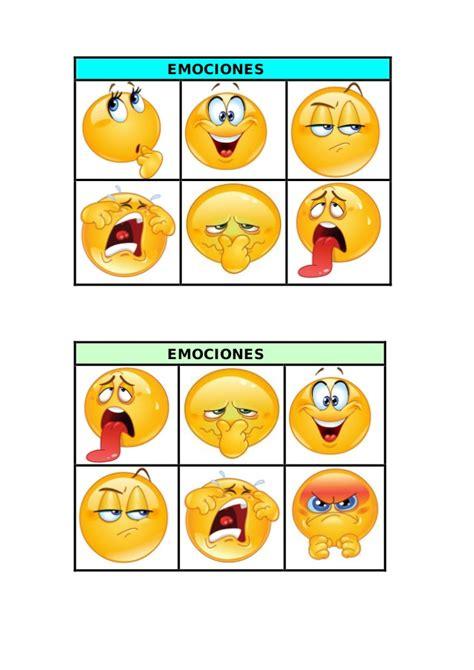 Bingo de las emociones