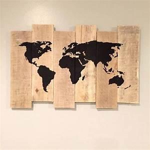 Carte Du Monde En Bois : les 25 meilleures id es de la cat gorie tableau carte du monde sur pinterest tableau map monde ~ Teatrodelosmanantiales.com Idées de Décoration