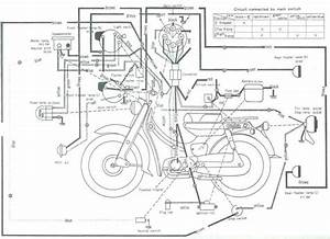 10  Yamaha V50 Motorcycle Wiring Diagram -
