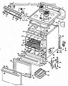 Parts For Ge Jbs030j3  Electric Range Parts
