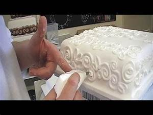 CAKE DECORATING ROYAL ICING PIPING TECHNIQUES / HOW TO