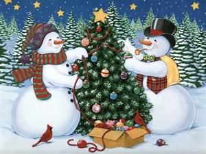 Snowmen - Christmas Photo (2735120) - Fanpop