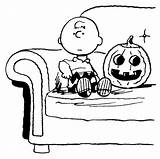 Charlie Coloring Brown Halloween Pumpkin Snoopy Peanuts Printable Cartoon Clip Sheets Character Tree Cliparts Cartoons Printables Collect Later Fall Getcolorings sketch template
