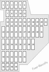 Fuse Box Diagram Audi Tt  8j  2008