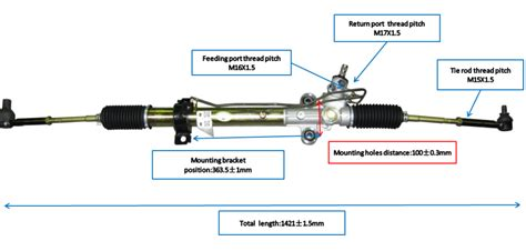 pinion  rack steering gear  grace buy rack