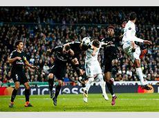 Match in Photos Paris SaintGermain Fall to Real Madrid