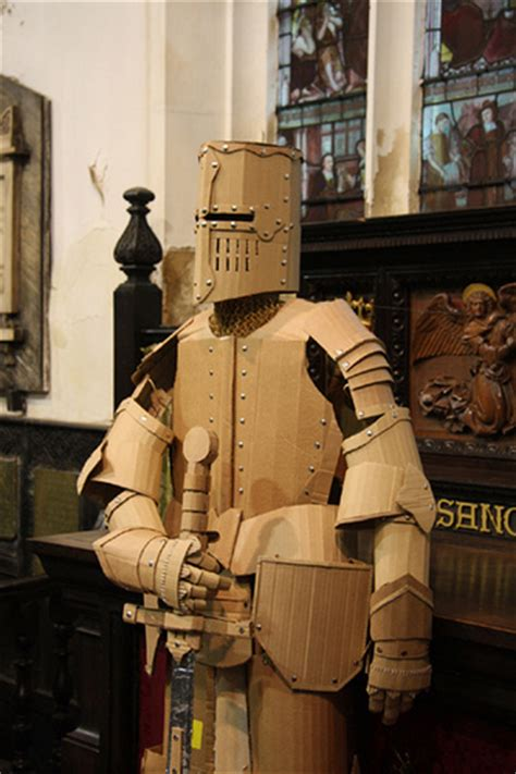 cardboard armor cardboard suit of armour cardboard suit of armour handmade flickr