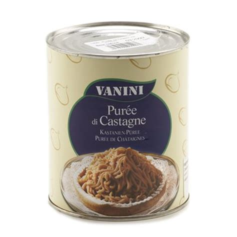 puree de marrons chestnut puree