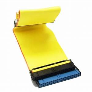 40 Pin 80 Wire Ide Flat Ribbon Cable Hard Drive Cable Ide